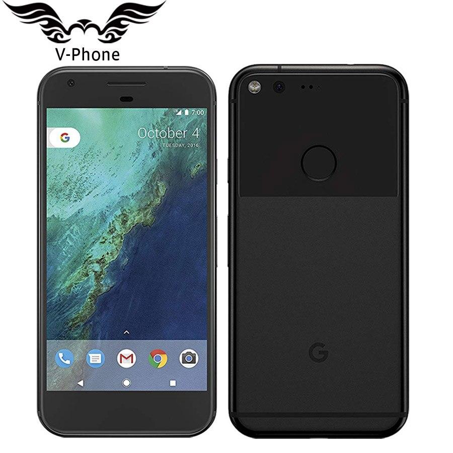 Google Smartphone 5 Google Pixel L'UE Version Mobile Téléphone 4 GB RAM 32 GB 128 GB ROM Snadragon Quad core Nouveau Android téléphone Intelligent