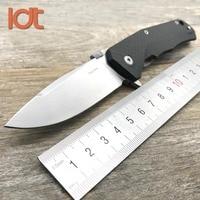 LDT Lion TRE Folding Knife M390 Blade Carbon Fiber Titanium Handle Tactical Knives Camping Hunting Knifes Outdoor Survival Tools