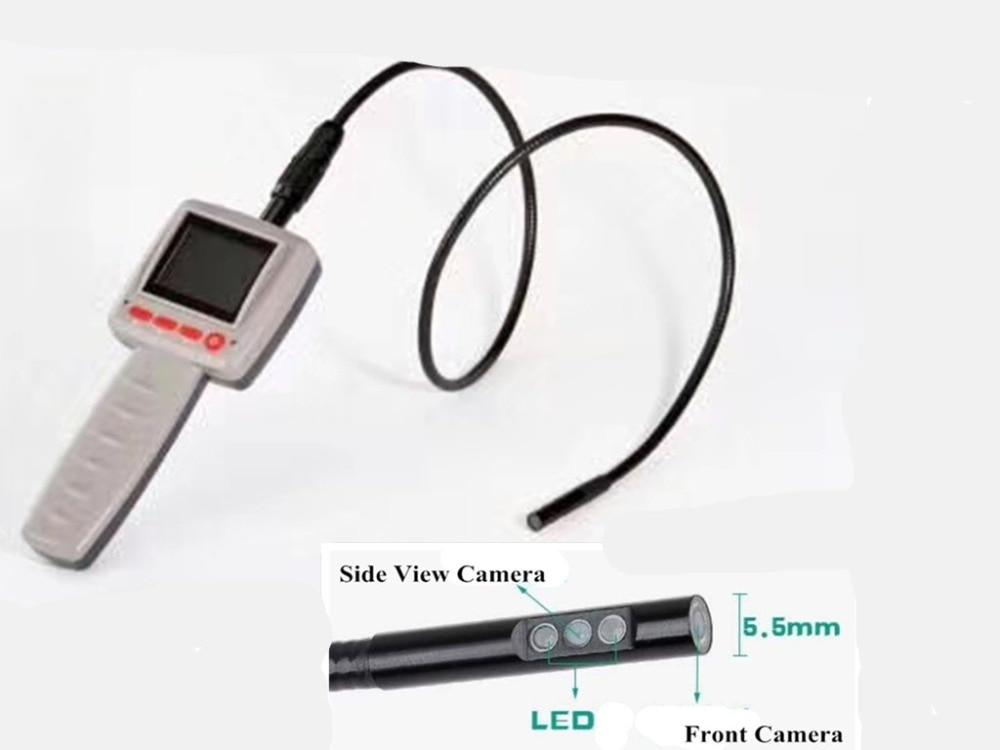 2.4 MM Dual Camera Water-proof IP67 AV Handheld Endoscope Camera мыльницы wess мыльница salle de bain