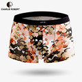Brand Boxers Shorts for Male Mens Classic Soft Breathable Bamboo Fiber Printed Cotton Spandex Underpants Comfortable  wholesale