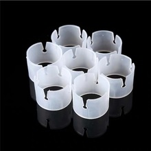 50pcs Balloons Arch Buckle Plastic Clip Bracket Balloon Connector Clips Ring For Arches Birthday Wedding Party Prom