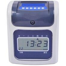 English LCD attendance clock attendance Attendance English plugs