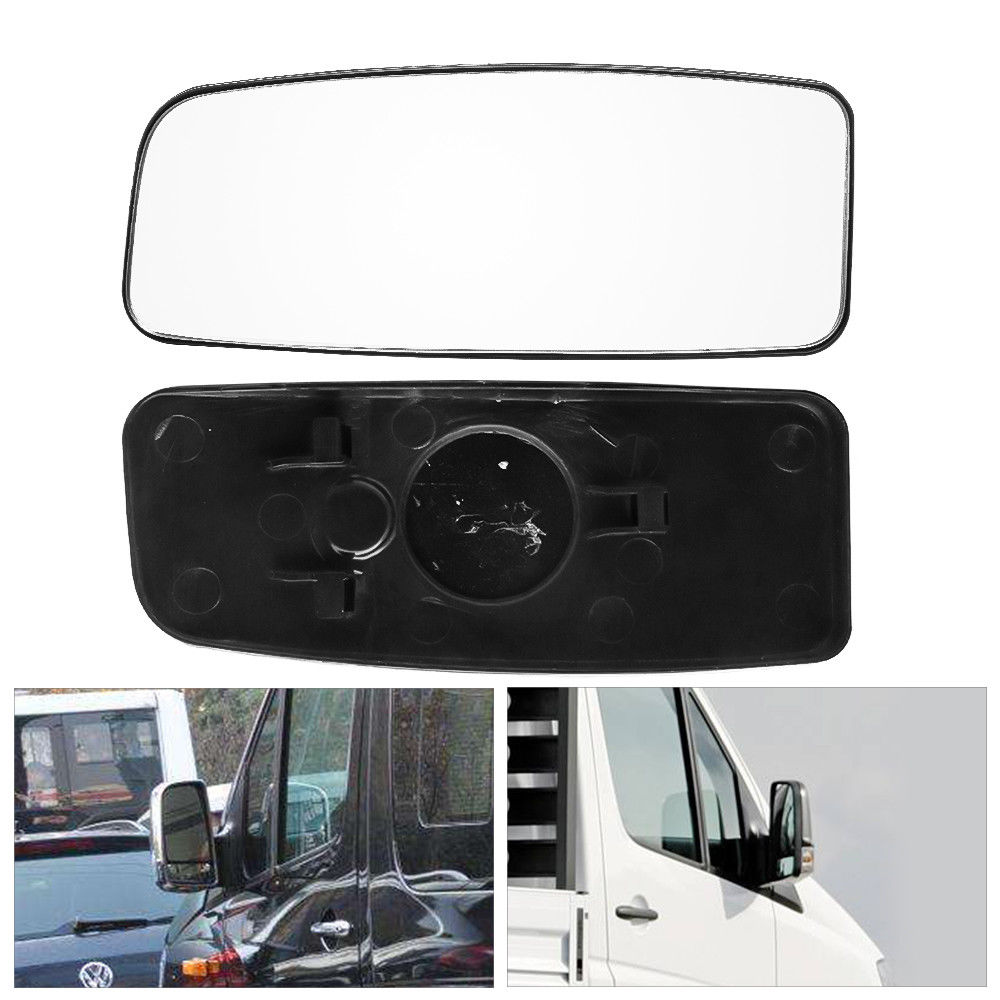 Mercedes Sprinter Wing Mirror Lower Small Glass PUSH HEATED Blind Spot Right O//S