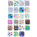 [Ananbaby] Baby Diaper 10pc/lot Breathable Cloth Diapers Washable Cartoon Animal Cover One Size Fit 0-2Year Baby Kawaii Nappies