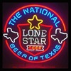 LONE STAR The National Beer Of Texas Neon Signs Store Display Handcrafted Neon Bulbs Real Glass