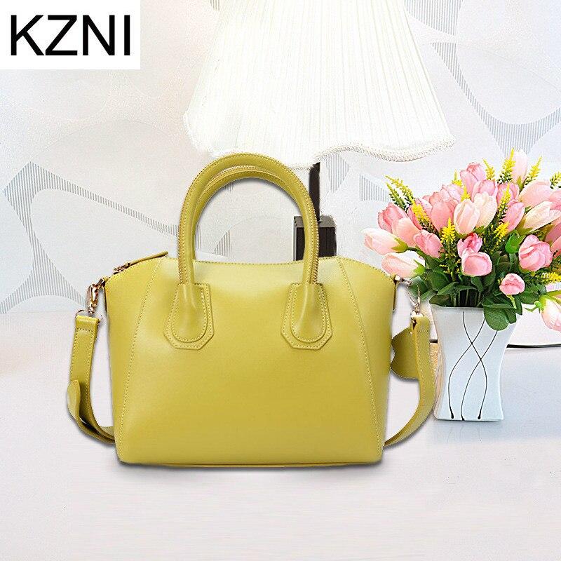 KZNI women crossbody bag genuine leather bags for women ladies hand bags bolsas femininas bolsas de marcas famosas L030862 цепная пила bosch ake 40 19 s 0600836f03