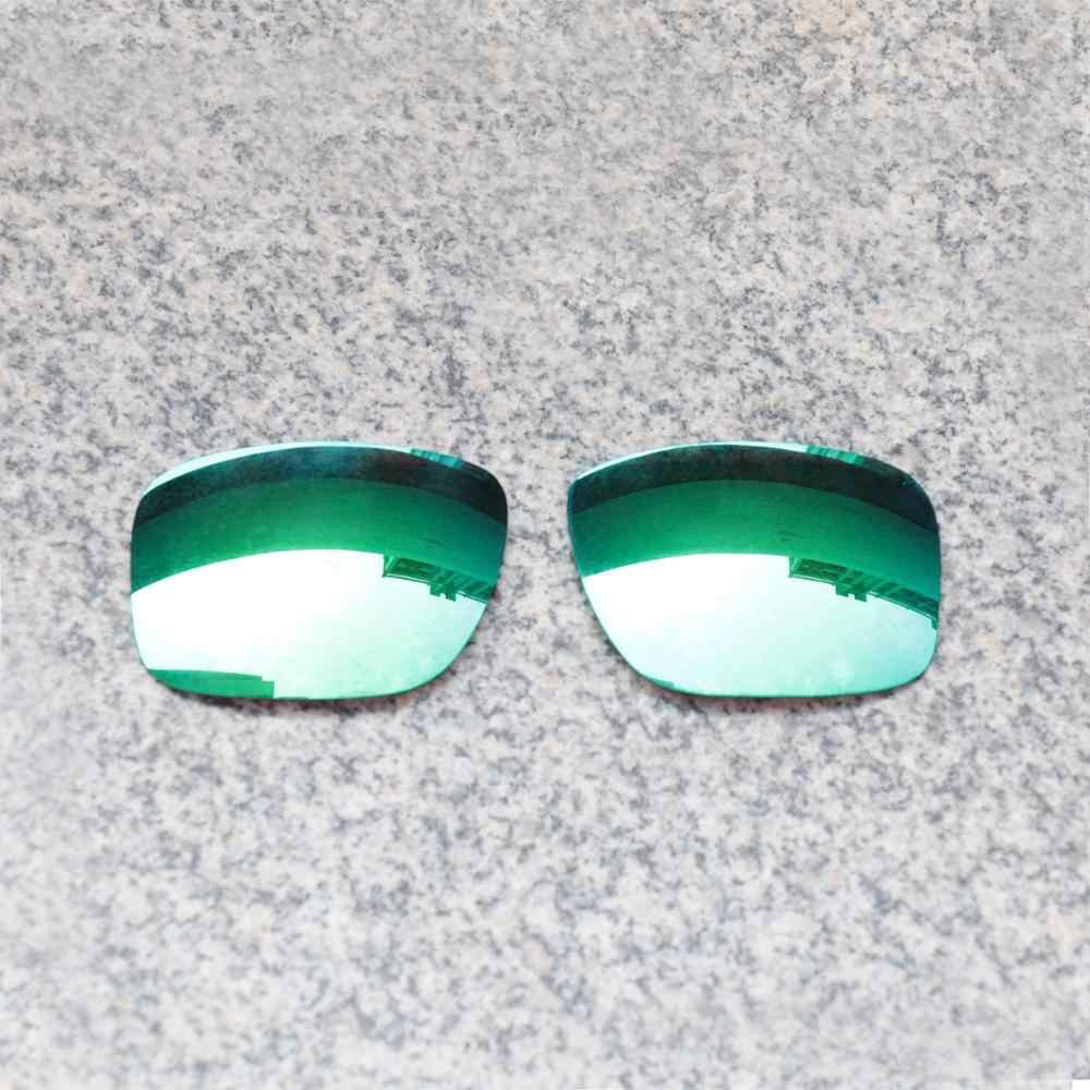 E.o.s Phân Cực Tăng Cường Thay Thế Ống Kính Cho Oakley HOLBROOK Kính Mát-Xanh Ngọc Lục Bảo Gương Phân Cực