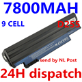 7800mah 9cells laptop battery For Acer Aspire One 522 D255 722 AOD255 AOD260 D255E D257 D260 D270 AL10A31 AL10B31 AL10G31