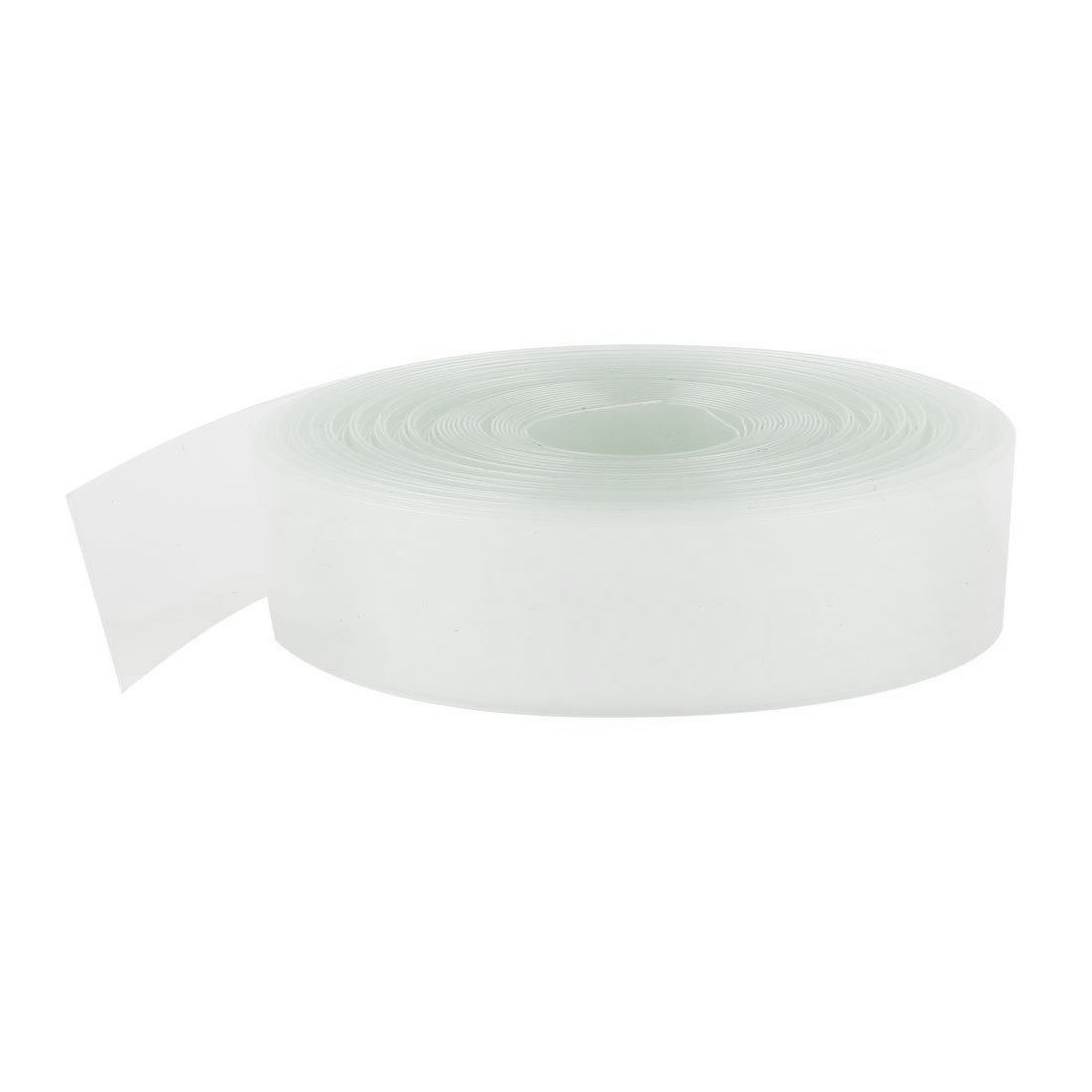 10Meters 23mm Width PVC Heat Shrink Wrap Tube Clear for 1 x AA Battery