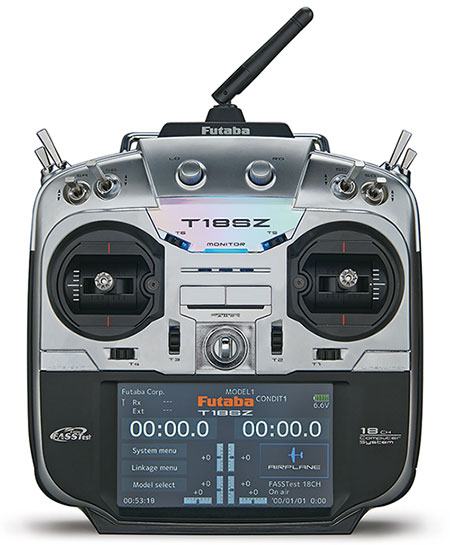 Futaba T18SZ 18channel Fasstest SBUS2 Transmitter computer system remote control with R7008SB Receiver for helicopter airplane