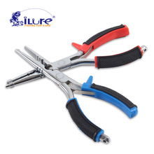 iLure Multifunction Stainless Steel Fishing Accessories For Fishing Line Cutter Pliers Carp Fishing Hook Decoupling Tools pesca
