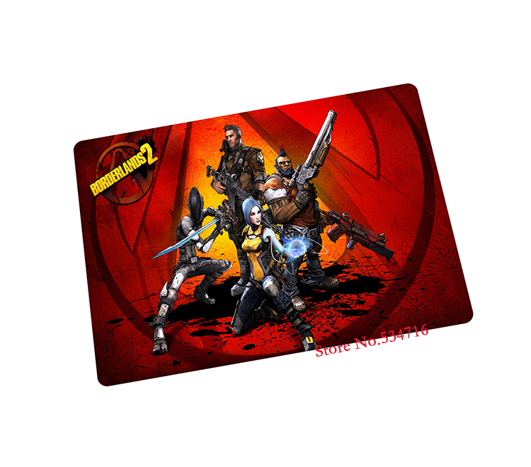 borderlands mouse pad gear Personality game pad to mouse notebook computer mouse mat brand gaming mousepad gamer laptop