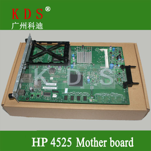 Original matherboard for HP CP4525 formatter board for HP laser printer parts CC440-60001 remove from new machine original matherboard for brother mfc7340 formatter board for brother 220v only lt226001 remove from new machine