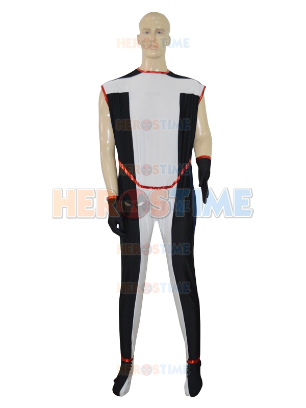 2016 Newest Custom Strong Superhero Costume Lycra Spandex Halloween Suit