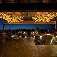 Fascinant 1.2 Mètres 1152 LED Rose/Blanc/bleu De Noël plafond cherry blossom lumière arbre intérieur décoration Lumière