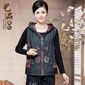 Chinese plus size chaleco mujer spring autumn veste femme vest women gilet colete feminino de inverno gilet femme vest female