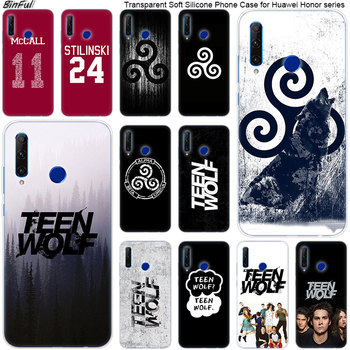 Hot Derek Hale Quotes Teen Wolf Soft Silicone Phone Case for Huawei Honor 20 20i 10 9 8 Lite 8X 8C 8