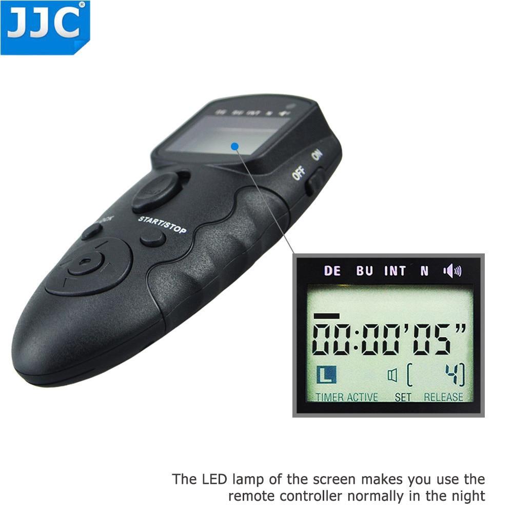 JJC 2 4GHz 56 Channels DSLR RF Wireless Timer Remote Control for OLYMPUS OM D E