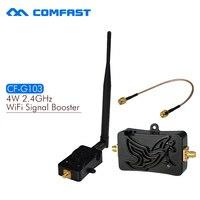 4 W Wifi Kablosuz Genişbant Amplifikatör Router wifi router için 2.4 Ghz 802.11n Güç Aralığı Sinyal Booster Ücretsiz Kargo CF-G103