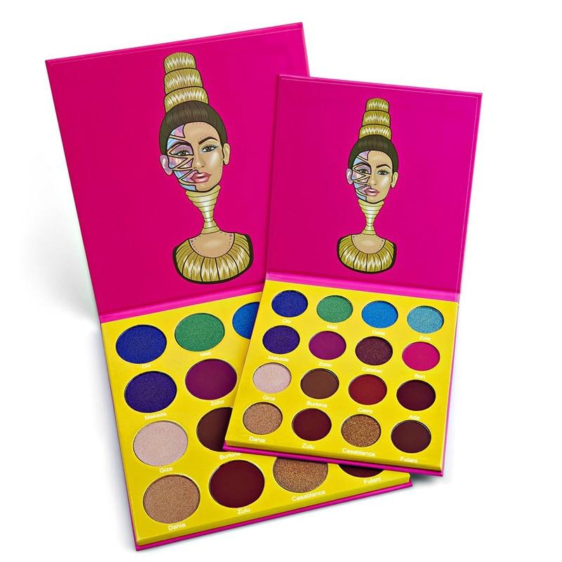 Givenone 9/12/16 Farbe Lidschatten Make-Up Paletten Wasserdichte Erde Warm Shimmer Matte Pulver Geeignet Für Party hochzeit Make-Up