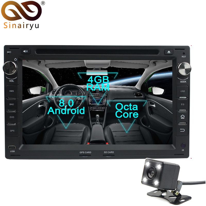 Sinairyu Android 8 0 Octa Core Car DVD Player for VW Passat B5 Golf 4 Polo