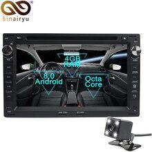 Sinairyu Android 8,0 Octa Core dvd-плеер автомобиля для VW Passat B5 Гольф 4 поло Бора gps навигации Мультимедиа Радио стерео Штатная