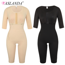 Waist Corset Bodysuits Shapewear Girdle Slimming-Underwear Full-Body-Shaper Postpartum