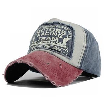 MOTORS RACING TEAM Cotton Cap Baseball Cap Snapback Hat Summer Cap Hip Hop Fitted Cap Hats For Men Women Grinding Multicolor бейсболк мужские