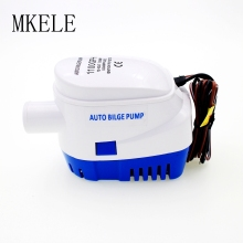 DC Automatic Bilge 12V 1100GPH Water Pump 24V For Submersible Auto Pump With Float Switch Sea Boat / Marine Bait Tank Fish
