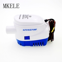 DC Automatic Bilge Pump 12V 1100GPH Water Pump 24V For Submersible Auto Pump With Float Switch