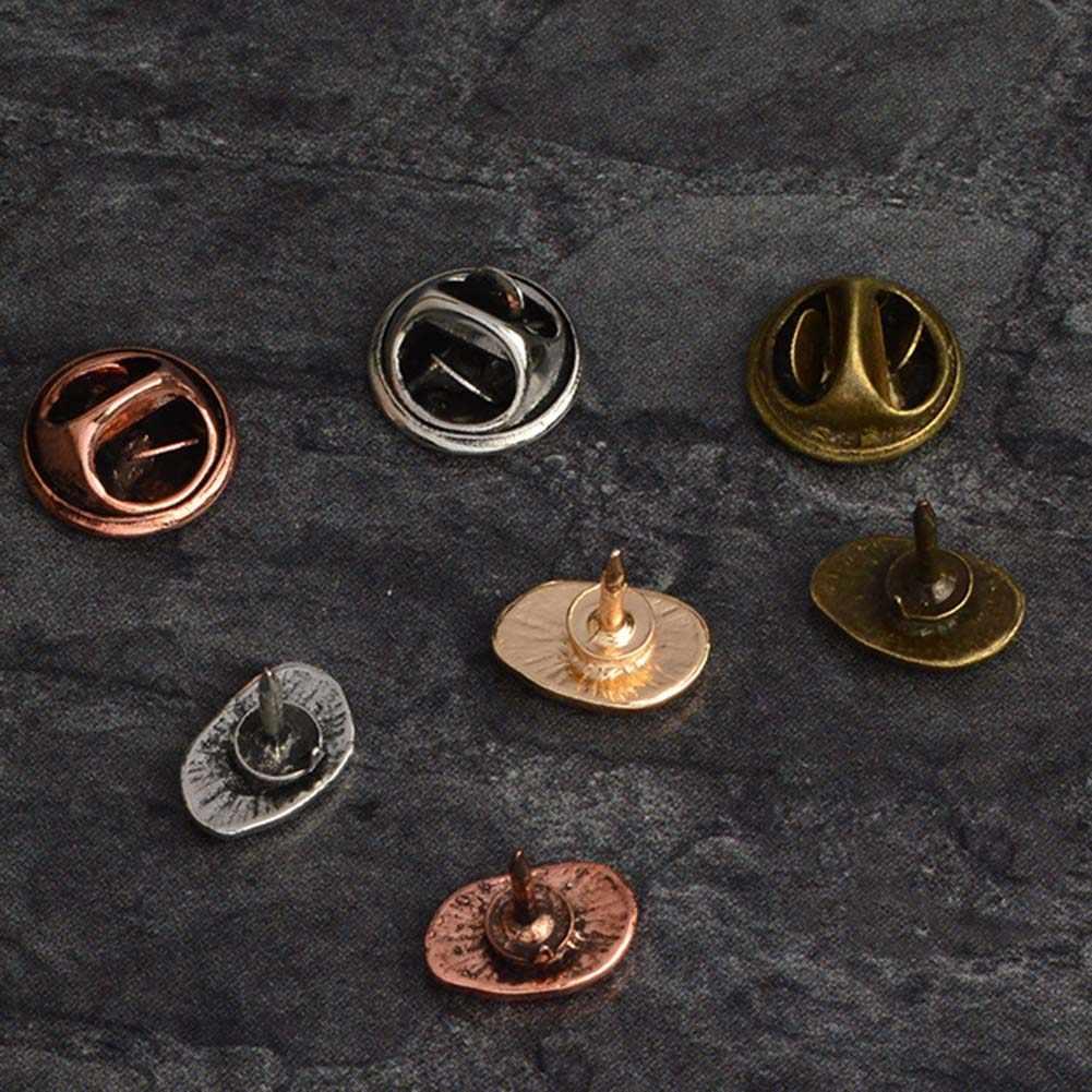 1 Pcs/set Logam Bentuk Yang Indah Biji Kopi Kopi Kekasih Baju Tas Topi Jaket Lencana Vintage Pin Hadiah Aksesoris