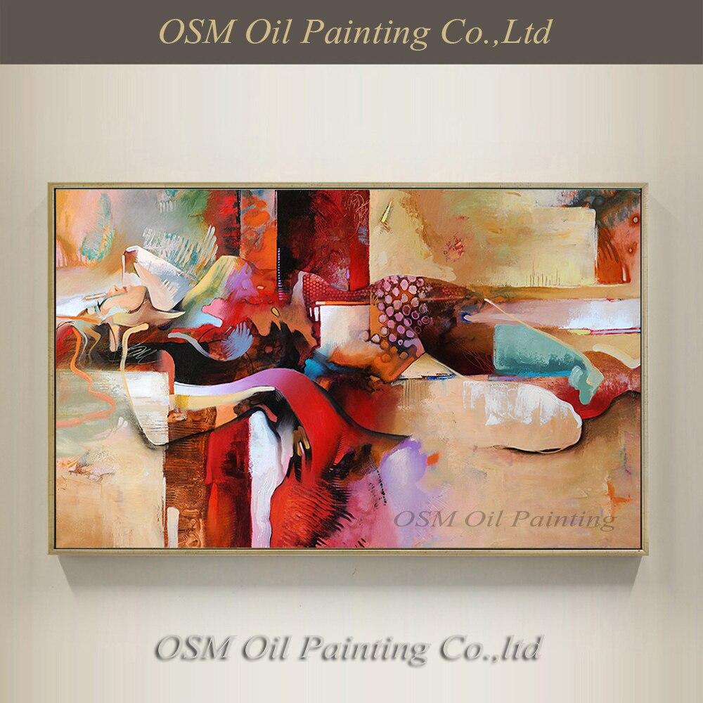 Nejlepší umělec ručně malované vysoce kvalitní moderní abstraktní sexy dívka olejomalba na plátně nahé sex olejomalba na zeď dekorace