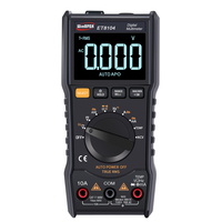 ET8104 Digital Multimeter with LCD Color Screen Flashlight NCV Voltmeter Ammeter Capacitor Tester Multi Meter Thermometer