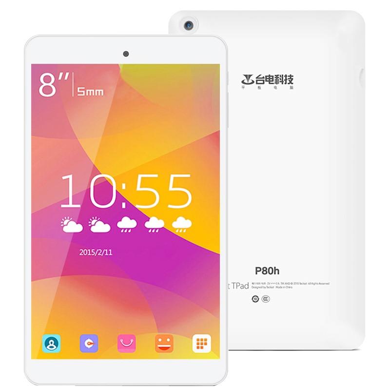 bilder für Original Teclast P80h MT8163 Quad-core 8,0 zoll IPS 1 GB + 8 GB Android 5.1 Tablet PC, HDMI GPS OTG Bluetooth Wifi