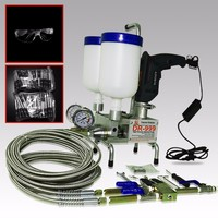 Epoxy Injection pump Polyurethane Foam remote control Grouting Dual Element!! Water Stop concrete repair Machine