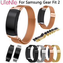 Stainless Steel Bracelet Milanese Magnetic Loop Band For Samsung Gear Fit 2 SM-R360 Smart Watch Strap For Gear Fit2 Watchbands milanese loop watchband for samsung gear s2 classic strap for stainless steel metal watch band sm r732 sm r735
