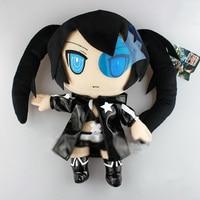 Tobyfancy Anime Black Rock Shooter Plush Toys Doll Cartoon Soft Stuffed Dolls Plush Toys for Kids Gifts