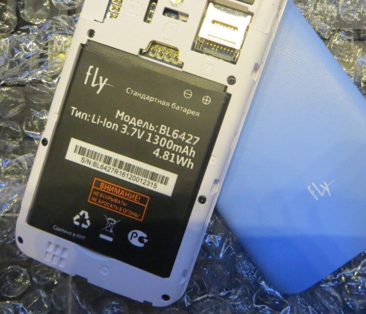 3.8 V batteries Rechargeable Li-ion Li-polymère Intégrée au lithium polymère batterie pour BL6427 batterie fly fs 407 stratus 6 1300 mah