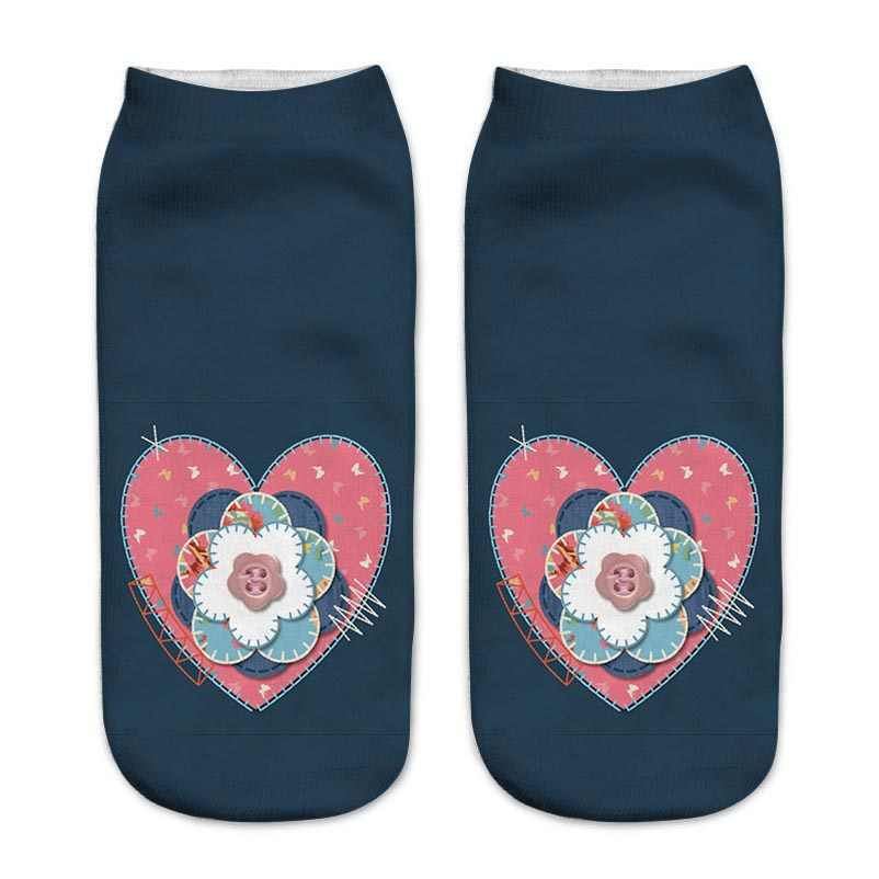 fa7dbd790b21 ... Girls Socks Cute Elegant Lovely Cartoon Sweet Cotton Women Socks Red  Wine Glass Letter Character Casual ...