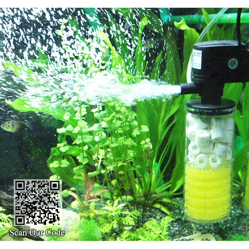 Super aquarium filter, filter for aquarium + Air Pump air oxygen increase, aquarium internal