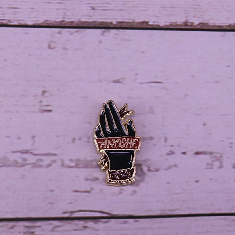 Anoshe A Darker Shade of Magic inspired lapel pin gorgeous literature fans decor