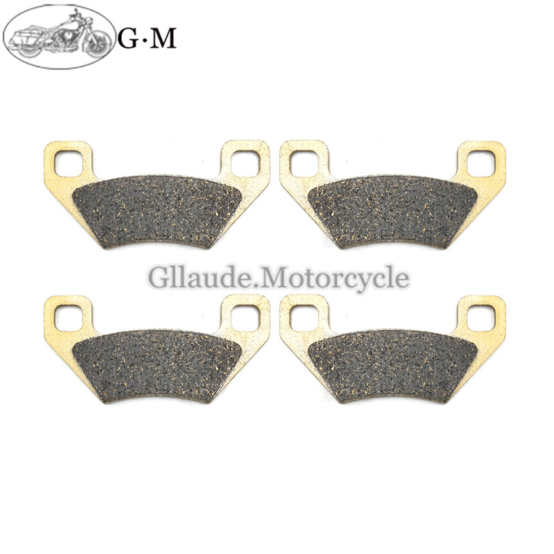 Front Rear Brake Pads For Arctic Cat 700i 700i GT 4X4 2011 2012