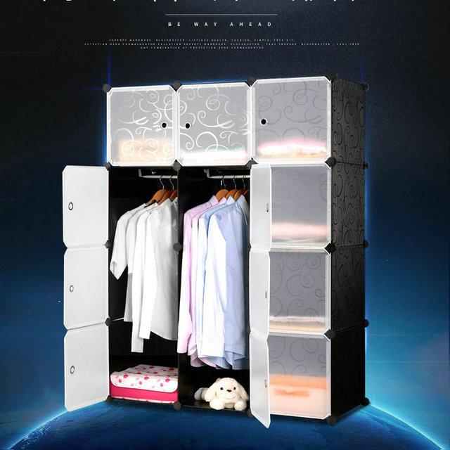 Kleiderschrank Diy diy magie stück plastikschränke kinder kleiderschrank einfache