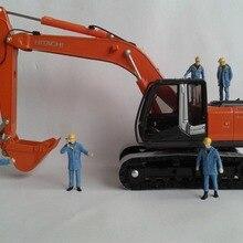 1:50 фигура строительного работника с синим