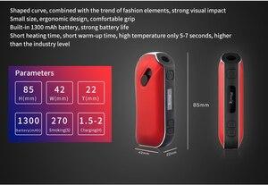 Image 2 - Pluscig P2 LED Display TC Ecig 1300mAh Electronic Cigarettes Vape Kits compatibility with Brand Heating Tobacco stick