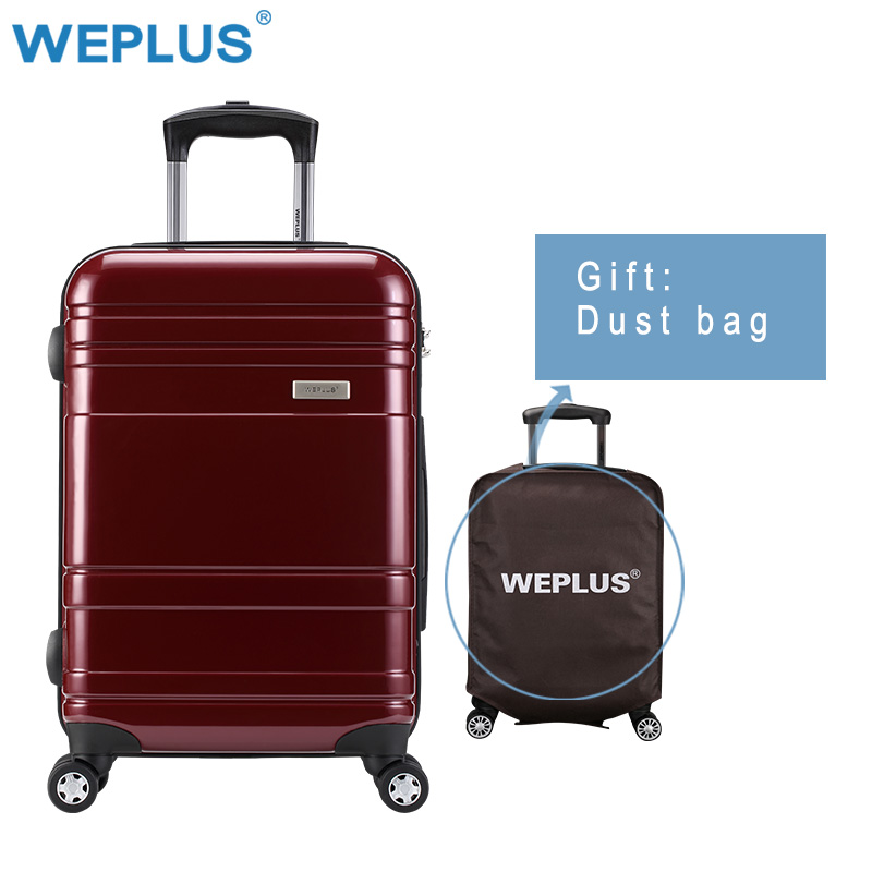 "20""24"" 28 Inch Women Travel Luggage Trolley suitcase Luxury Brand Boarding Case Rolling luggage  carry on travel vintage rolling"