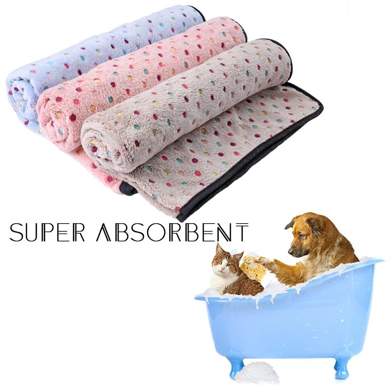 ▽Top lunares Super lindo manta para perros colorido punto manta ...