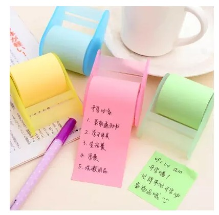 söt brevpapper Memo Pads Bälte tejphållare notis Kreativa - Block och anteckningsböcker - Foto 2
