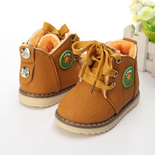 2016 fashion classic children's shoes, baby shoes winter models of child snow boots