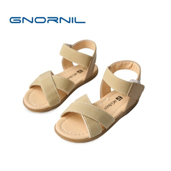 35d84b627 2018 Kids Shoes For Girl Rome Shoes Simple Roman Girls Sandals Elastic Band  Stretch Fabric Children Shoes Girls Summer Sandals-in Sandals from Mother    Kids ...